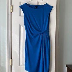 Ann Taylor bright blue dress
